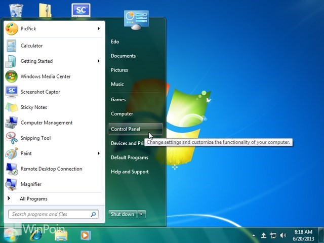 Cara Menampilkan File Ekstensi di Windows Explorer pada Windows 7