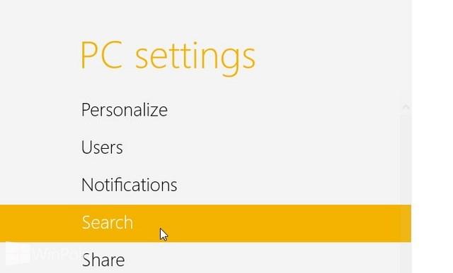 Cara Menentukan Aplikasi Apa Saja yang Digunakan untuk Pencarian Windows 8