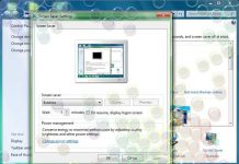 Cara Mengatur Bubbles Screen Saver Windows 7