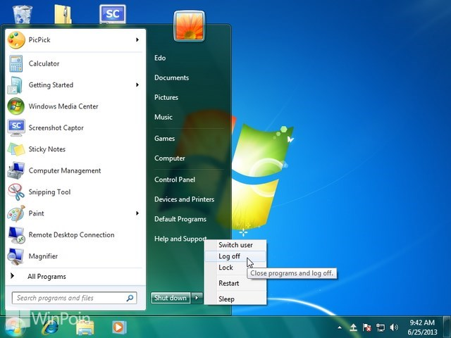 Cara Mengatur Bubbles Screen Saver Windows 7