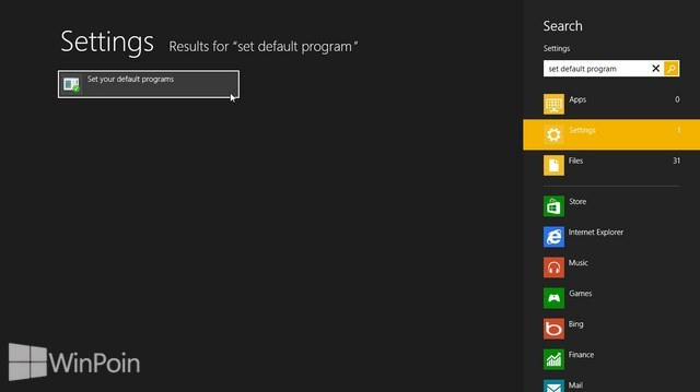Cara Mengatur Default Program di Windows 8