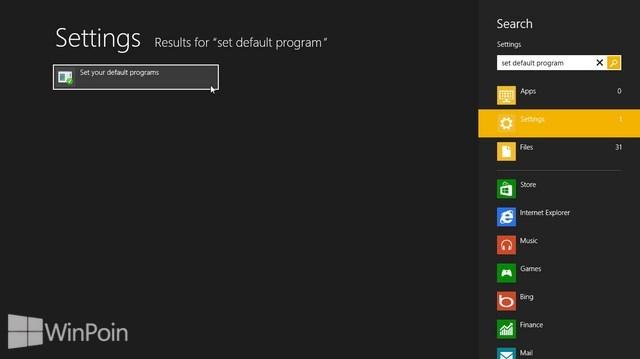 Cara Mengatur Default Program di Windows 8