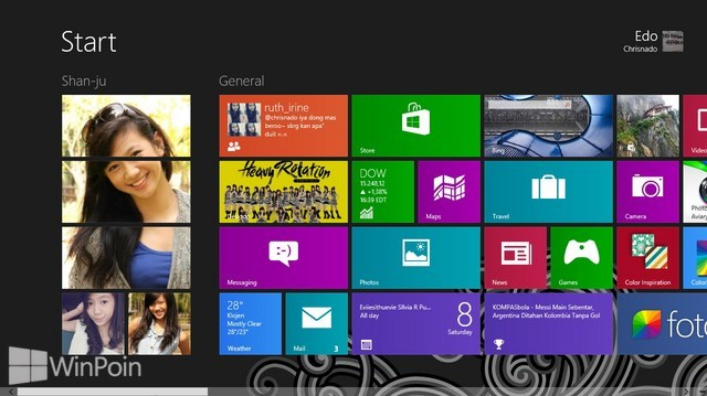Cara Mengganti Background Start Screen di Windows 8