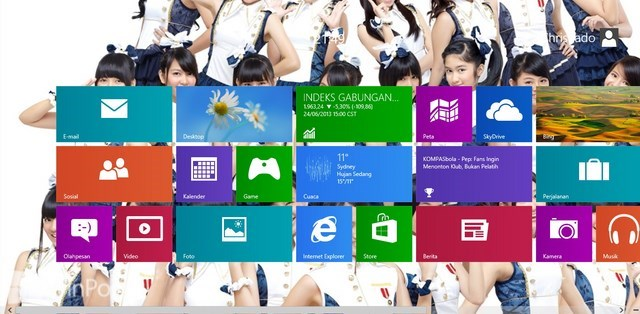 Cara Mengganti Font Windows 8