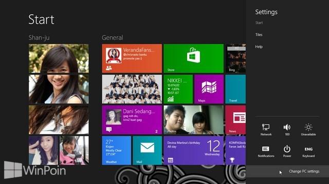 Cara Menggunakan PC Settings di Windows 8 untuk Pemula