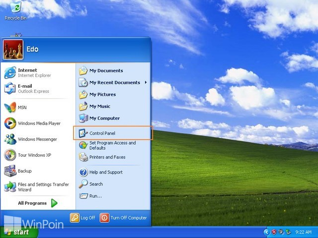 Cara Mengubah Password Komputer di Windows XP