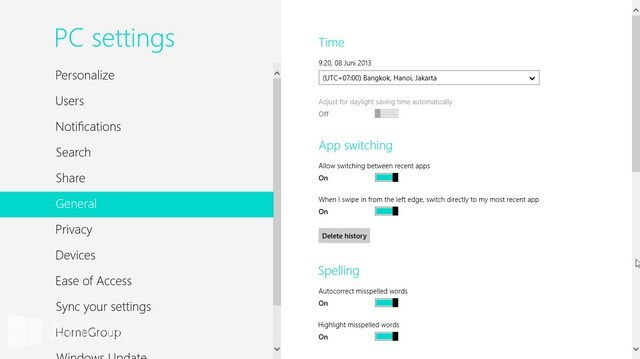 Cara Mengubah Time Zone di Windows 8