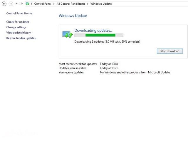 Cara Mengupdate Windows 8