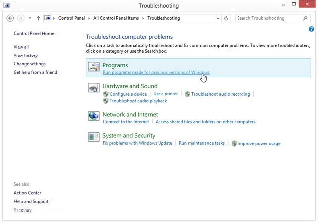 Cara Membuat Software Lama Berjalan Pada Windows 8