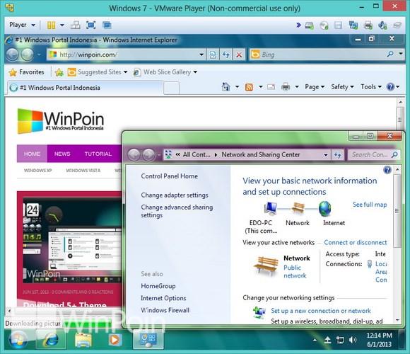 Cara Menghubungkan Koneksi Internet ke Komputer Virtual VMware Player