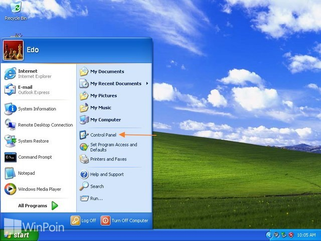 Cara Update Driver di Windows XP