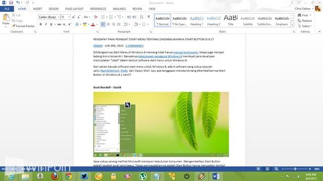 Cara Copy Halaman Web ke Microsoft Word tanpa Masalah