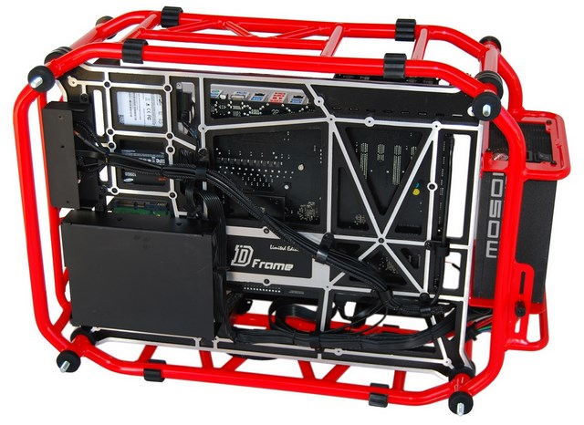 D-Frame: Casing Komputer Garang Bergaya Street Fighter