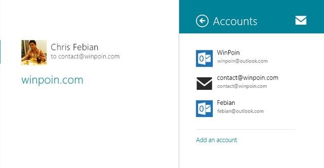 Cara Menggunakan Fitur Email di Windows 8Cara Menggunakan Fitur Email di Windows 8