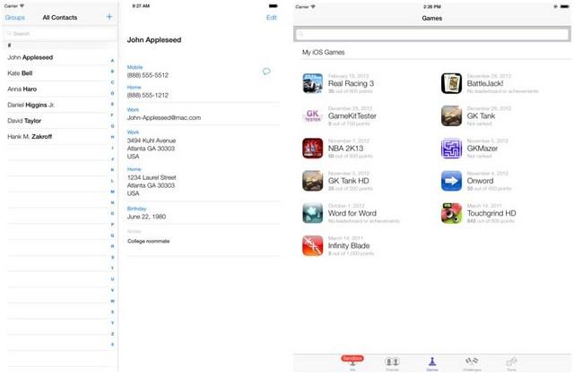 Inilah Tampilan iOS 7 untuk iPad yang Bocor ke Publik