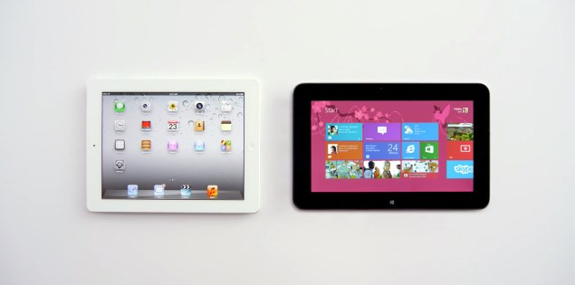 i pad vs window tablet