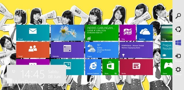 Review Apalikasi Decor8 Windows 8: Aplikasi yang Mempercantik Start Screen