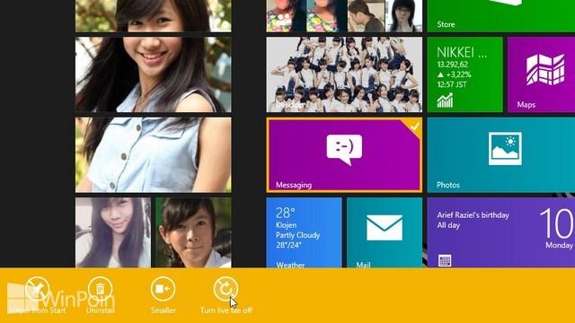 Cara Menggunakan Start Screen di Windows 8 untuk Pemula