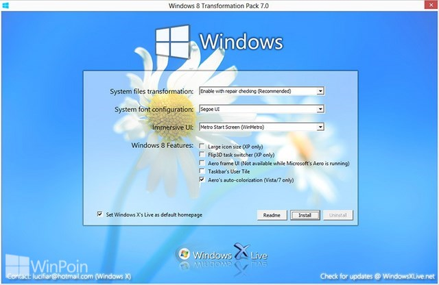 Download Kumpulan Tema Windows 8 Untuk Windows XP