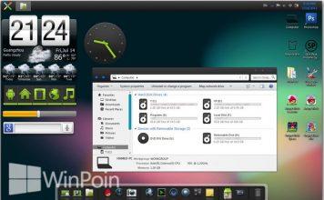 Download 5 Theme Android untuk Windows XP