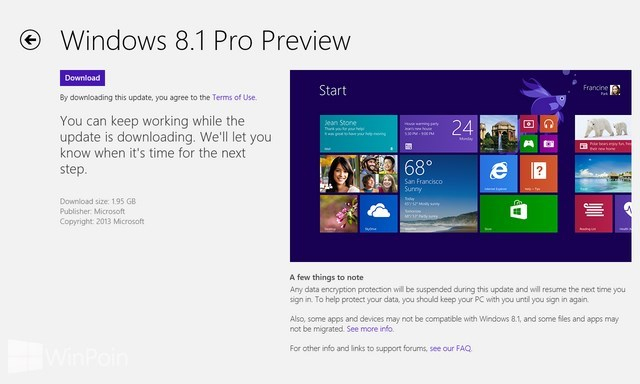 Cara Menginstall Windows 8.1 Preview via Windows Store