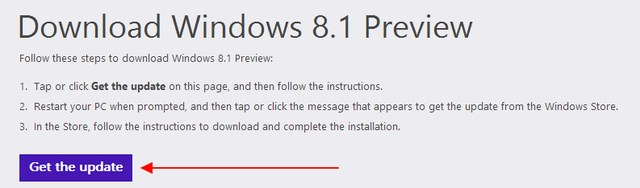 Download Windows 8.1 Preview via Windows Store!
