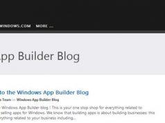 Microsoft Merilis Windows App Builder Blog