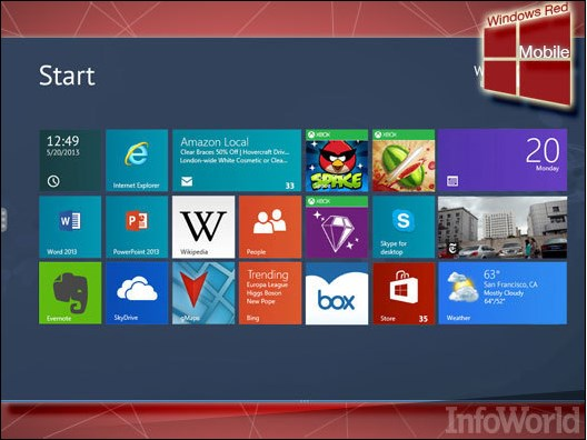 Inilah Windows Red: Konsep Perbaikan Total untuk Windows Blue