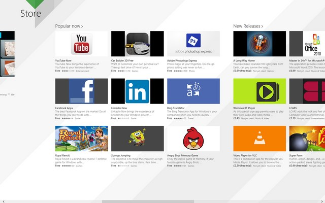 Windows Store di Windows 8.1 versi Leaked Sudah Bisa Diakses!