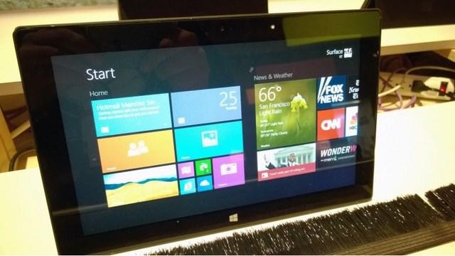 Windows RT 8.1 Preview Terlihat di Event BUILD 2013