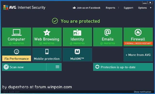 Download AVG Internet Security 2013 dengan Lisensi Legal Senilai $54.99