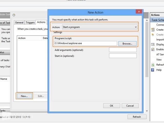 Cara Booting Windows 8 Langsung ke Desktop