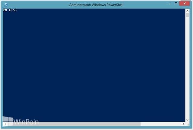 Cara Membuka Windows PowerShell sebagai Admin di Windows 8