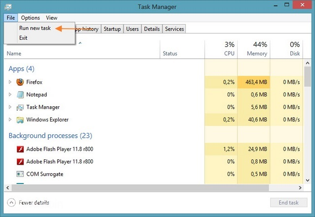 Cara Membuka Windows PowerShell sebagai Admin di Windows 8