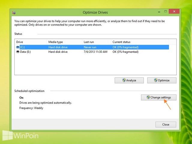 Cara Melakukan Defrag Secara Otomatis di Windows 8