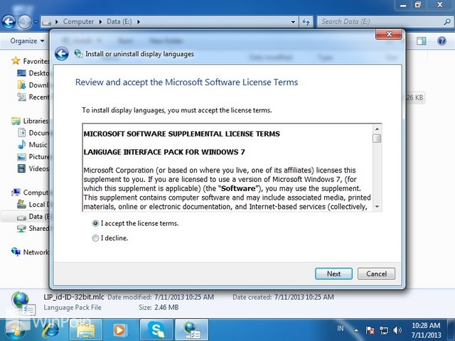 Cara Install dan Uninstall Bahasa di Windows 7