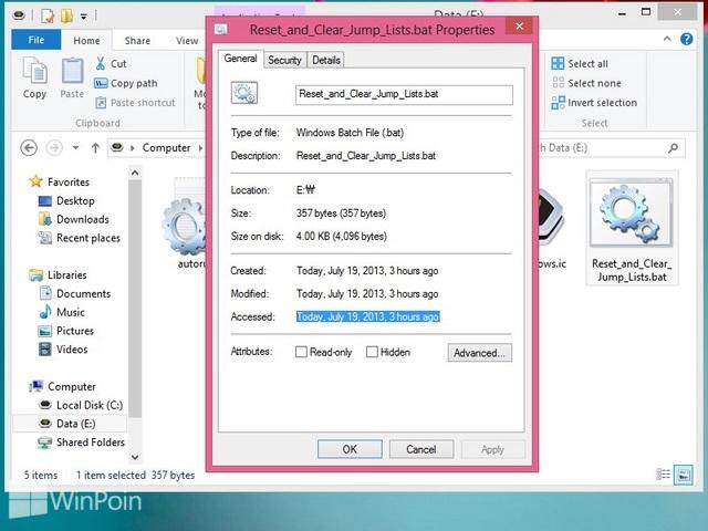 Cara Mematikan atau Mengaktifkan Last Access Time File dan Folder di Windows