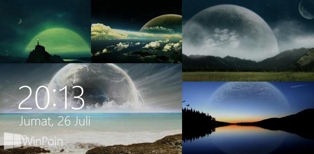 Cara Mengaktifkan Lock Screen Slide Show di Windows 8.1