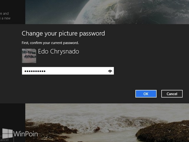 Cara Lupa Password Pada Picture Password Windows 8