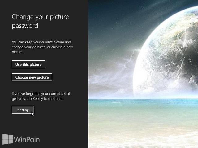 Cara Lupa Password Pada Picture Password Windows 8