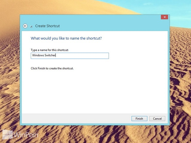 Cara Membuat Shortcut Window Switcher di Windows 8