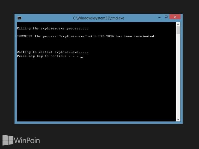 Cara Menambahkan Menu Restart Explorer di Klik Kanan Windows