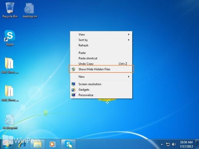 Cara Cepat Menampilkan File yang Tersembunyi di Windows