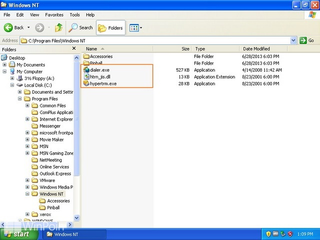 Cara Menampilkan File Ekstensi di Windows Explorer pada Windows XP