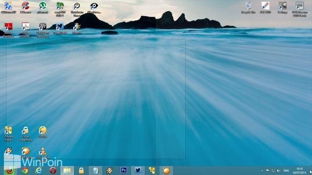 Cara Mematikan dan Mengaktifkan Peek pada Desktop di Windows 8