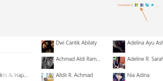 Cara Menambah atau Menghapus Account di Aplikasi People Windows 8