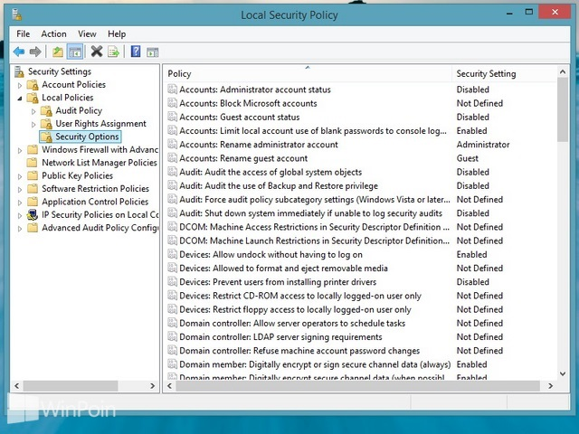 Cara Mengatur Login Windows 8 dengan User Name dan Password