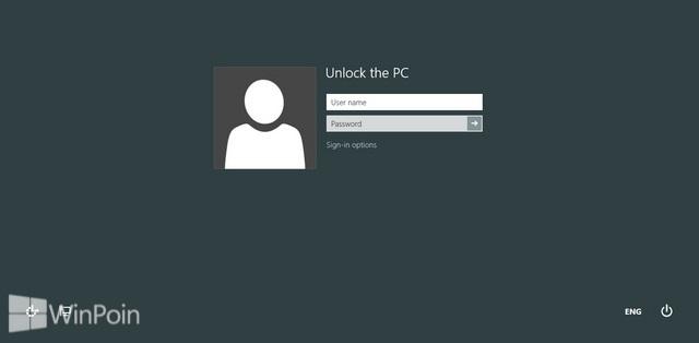 Cara Mengatur Login Windows 8 dengan User Name dan Password