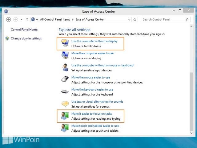 Cara Mengatur Waktu Notifikasi Tetap Terbuka di Windows 8