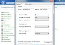 Cara Mengganti Currency Format di Windows 7